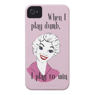 Jugar el caso mudo del iPhone 4/4S Barely There Case-Mate iPhone 4 Cárcasas
