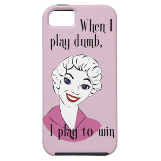 Jugar el caso mudo del iPhone 5 iPhone 5 Carcasa