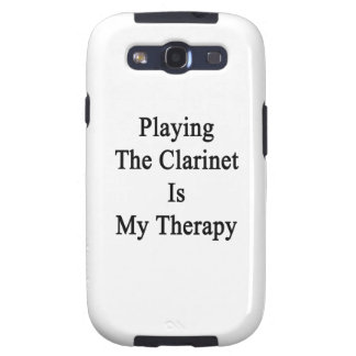 Jugar el Clarinet es mi terapia Samsung Galaxy S3 Carcasa