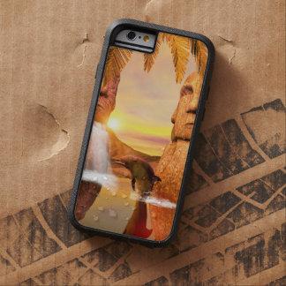 Jugar el dolhin en la puesta del sol funda tough xtreme iPhone 6
