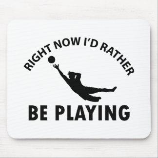 Jugar el goalkeep alfombrilla de ratones