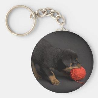 Jugar el perrito 1 llaveros personalizados