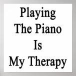Jugar el piano es mi terapia impresiones