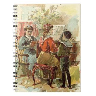 Jugar el piano libro de apuntes