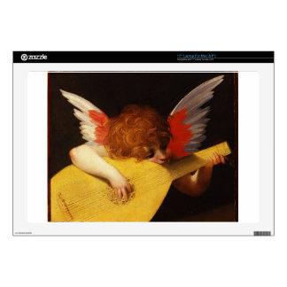 Jugar el putto (ángel del músico) por Rosso Skins Para Portátiles