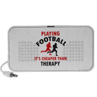 jugar footbal americano iPod altavoz