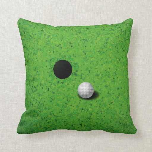 Jugar la almohada del golf