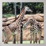 Jugar la impresión de las jirafas impresiones