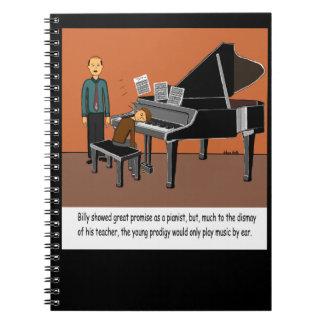 Jugar música por el oído notebook