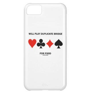 Jugará el puente duplicado para la comida (los funda para iPhone 5C