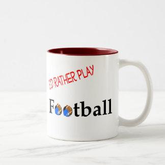 Jugaría bastante la taza del fútbol