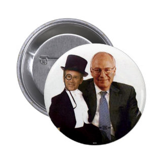 Jugate de George W. de la marioneta - botón Pin