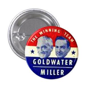 Jugate de Goldwater-Miller - botón Pin