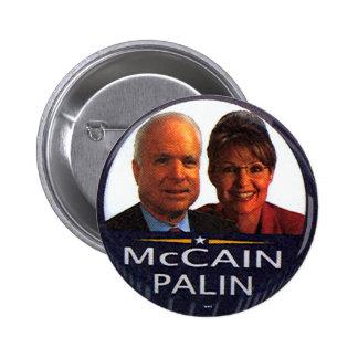 Jugate de McCain-Palin - botón Pin Redondo De 2 Pulgadas