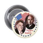 Jugate de Truman-Barkley - botón Pins
