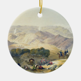 Jugdelluk, the Last Stand Made by General Elphines Double-Sided Ceramic Round Christmas Ornament