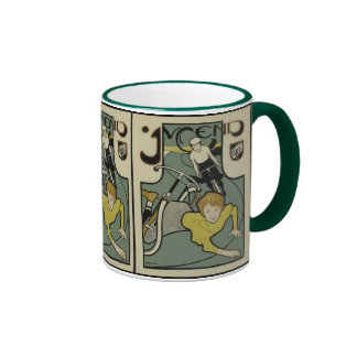 Jugend (1896) taza a dos colores