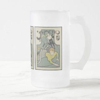 Jugend (1896) taza de cristal