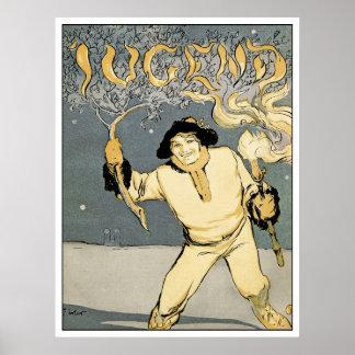 Jugend Art Magazine - Art Nouveau - Jugenstil Poster