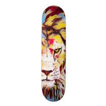 Juggalo Graffiti Lion Element Pro Park Board