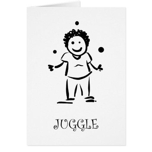 Juggle Card