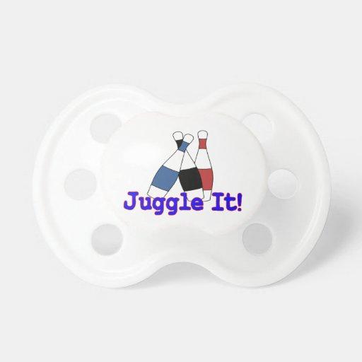 Juggle It Juggler BooginHead Pacifier