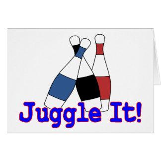 Juggle It Juggler Greeting Cards