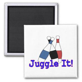 Juggle It Juggler Magnet