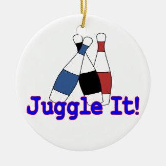 Juggle It Juggler Christmas Ornaments