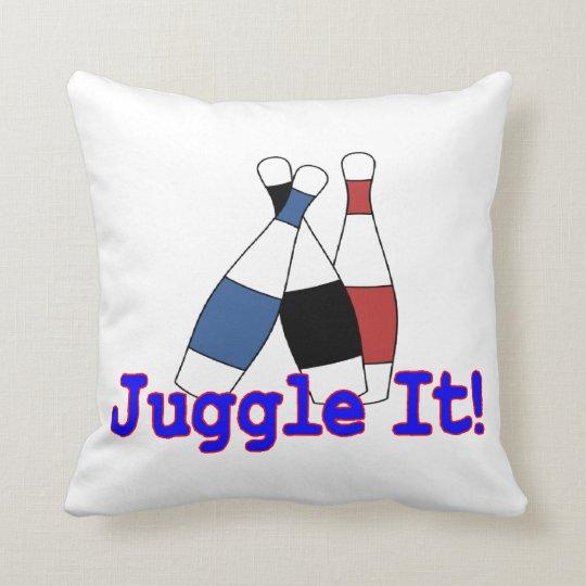 Juggle It Juggler Throw Pillow