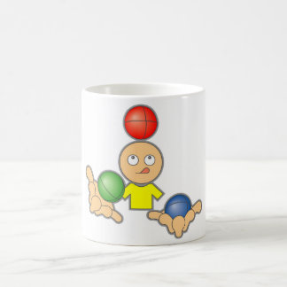 Juggle Classic White Coffee Mug
