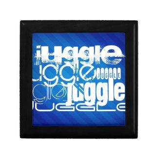 Juggle, Royal Blue Stripes Gift Box