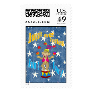 Juggle The Forties Stamp