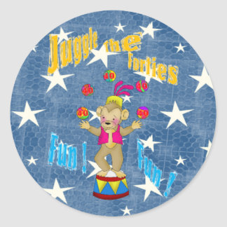 Juggle The Forties Sticker