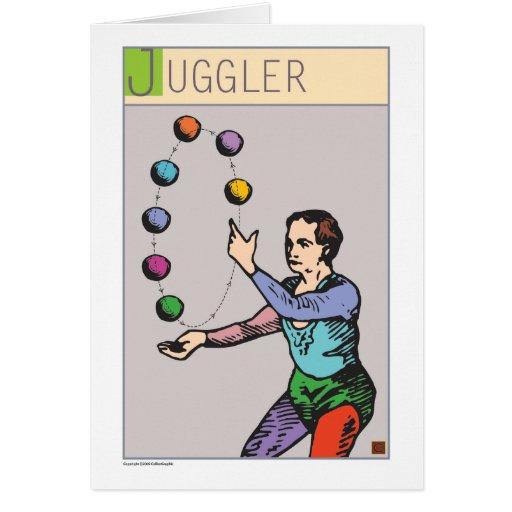 Juggler Card