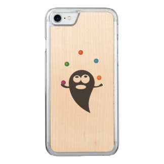 Juggler cartoon carved iPhone 7 case