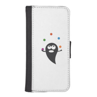Juggler cartoon wallet phone case for iPhone SE/5/5s
