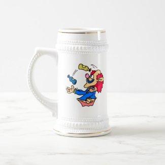 juggler clown mug