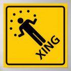Juggler Crossing Highway Sign