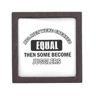Juggler designs premium jewelry boxes