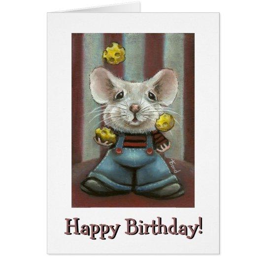 Juggler Mouse Card