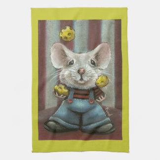 Juggler Mouse Hand Towels