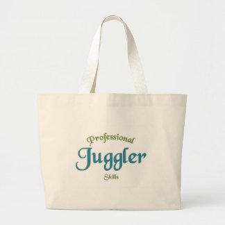Juggler Skills Jumbo Tote Bag