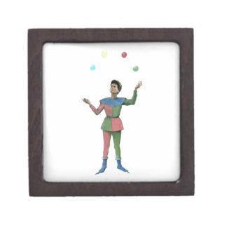 Juggler - Vintage Illustration Premium Trinket Boxes