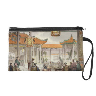 Jugglers Exhibiting in the Court of a Mandarin's P Wristlet Clutches