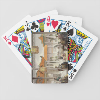 Jugglers Exhibiting in the Court of a Mandarin's P Bicycle Card Decks