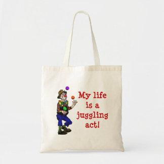 Juggling Act Tote Budget Tote Bag