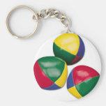 juggling-bean-balls key chains