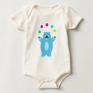 Juggling Bear Baby Tee