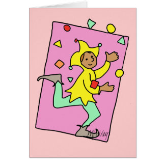 Juggling Card
